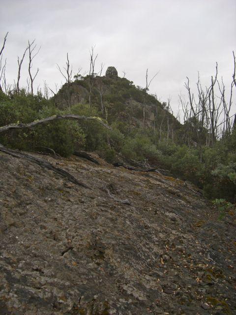 Platform Peak Summit Cairn