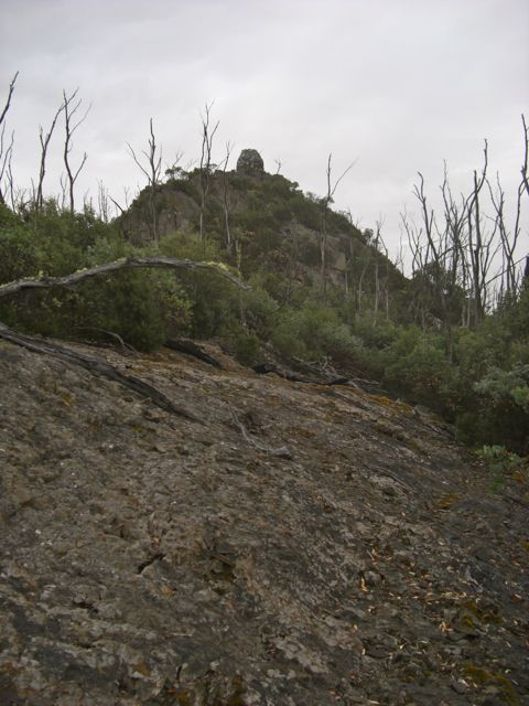 Platform Peak Summit Cairn