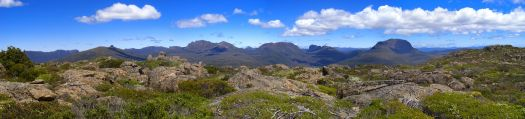 View from Oakleigh plateau
