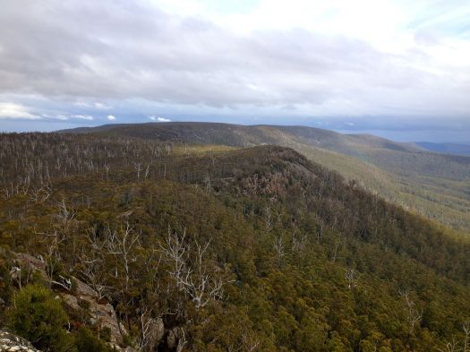 View from Mt Lloyd (taken on a different occasion)