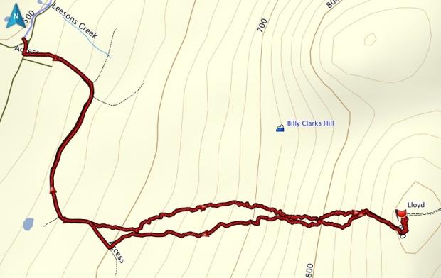 Lloyd GPS Track