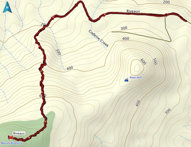 Riveaux GPS Track