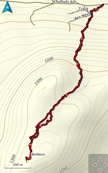Ben Nevis GPS Route