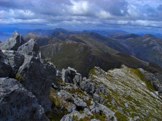 Awesome ridge lines along the range