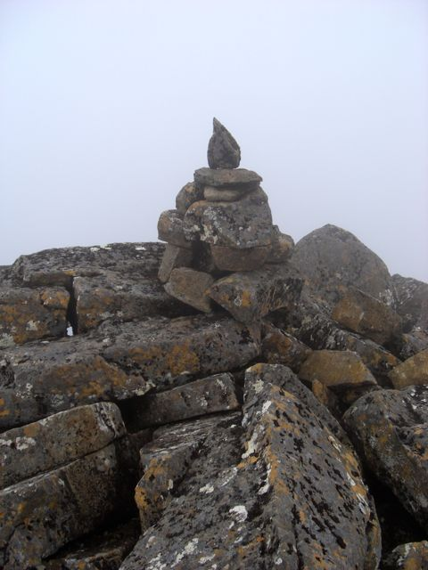 Summit Cairn on Tyenna