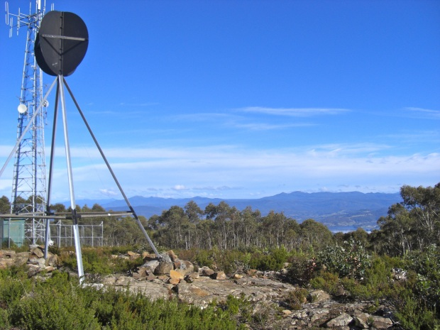 Summit Trig and view