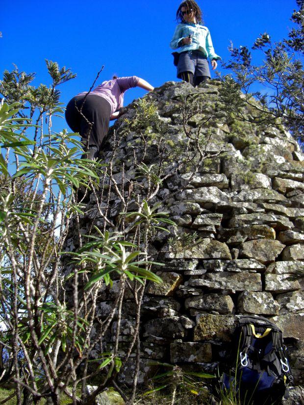Summit cairn.. worth a climb!