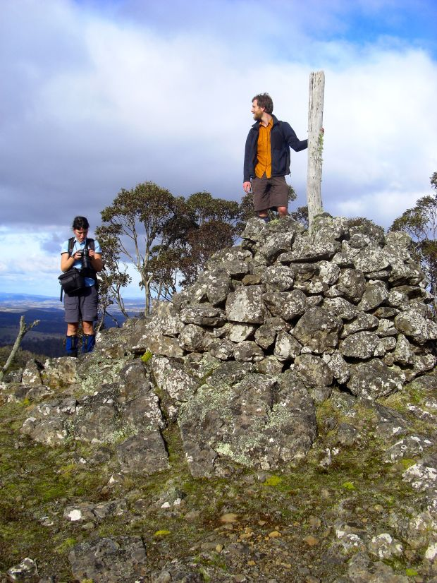 Old Man's summit cairn
