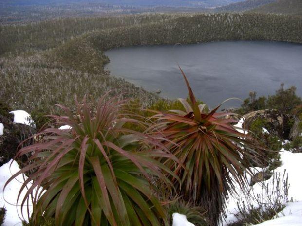 Looking back at Lake Skinner