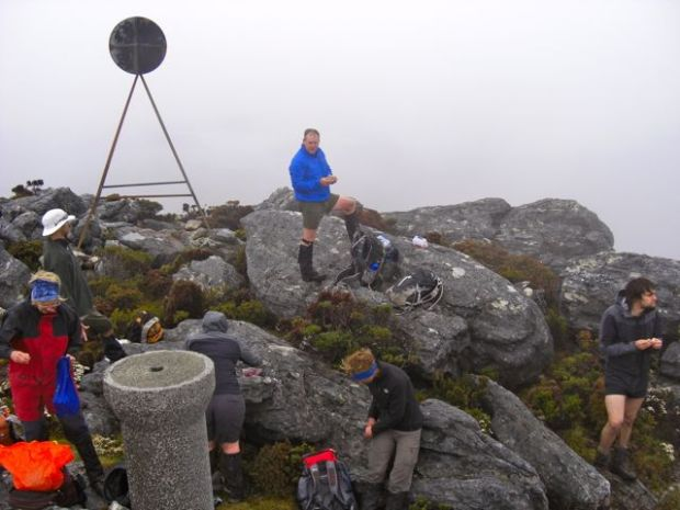 Lunch on the Summit: Where are the views??