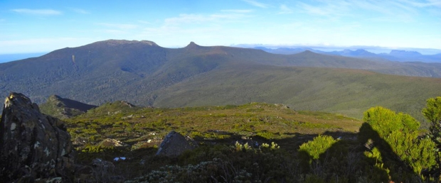 View towards the Calf and Adamsons from Esperance