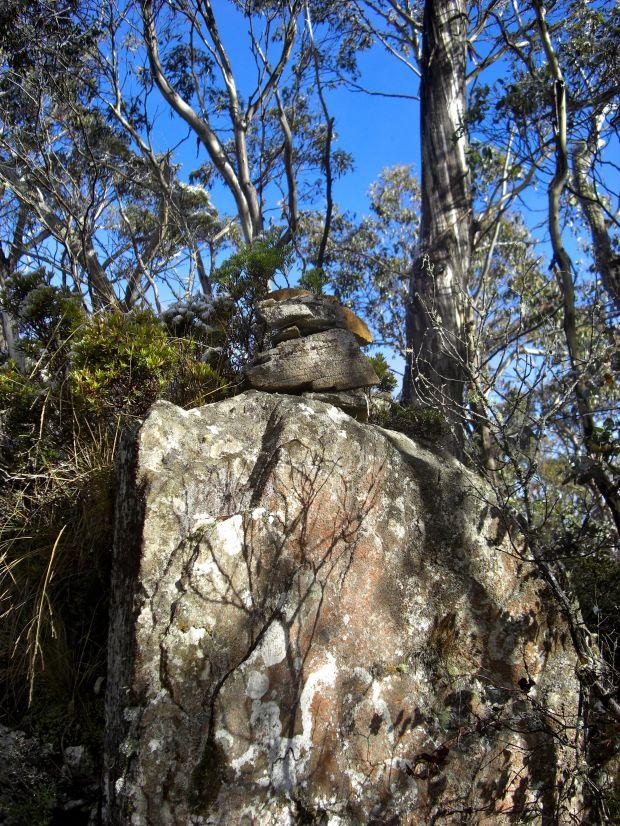 Quoin summit cairn