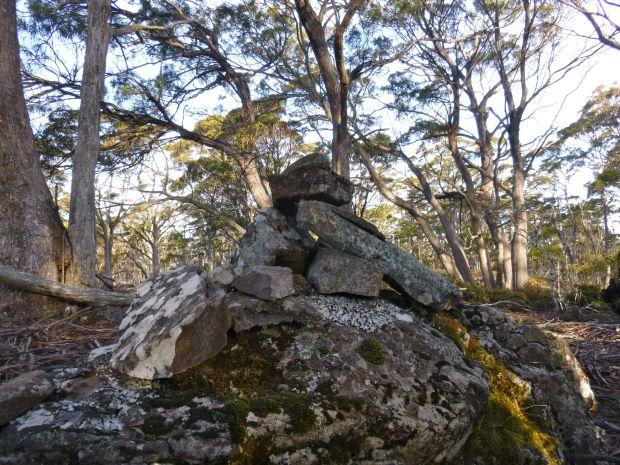 Spion Kop summit cairn