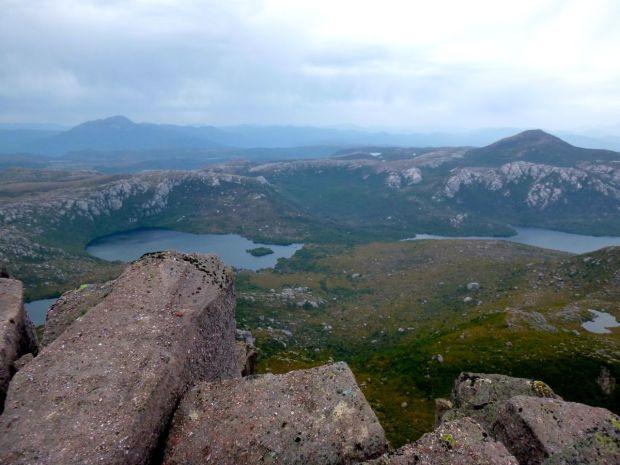 View towards Sedgewick, Eldon Peak from Gieke