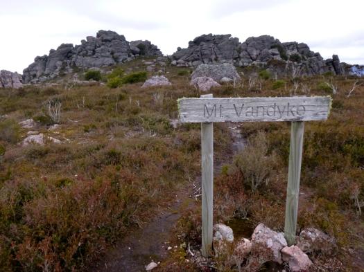 The path to Vandyke