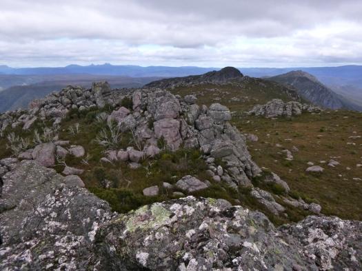 On the summit of Vandyke, looking towards Claude