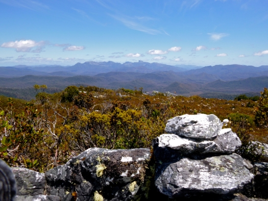 Arrowsmith summit cairn and Frenchmans