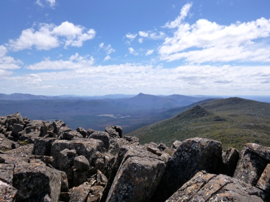 View north of Lanes, to Dawson (close) and Wylds Craig
