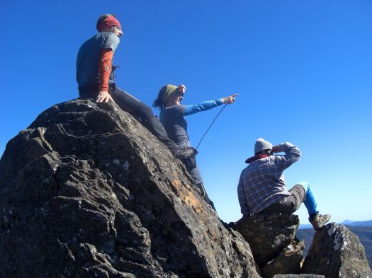 Working out what's what on the summit of Hugel