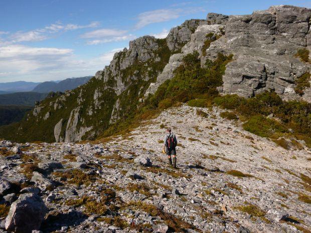 On the ridge towards Pegasus South