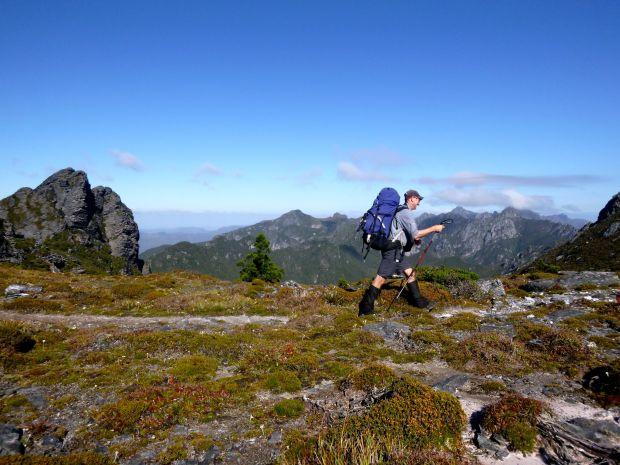 Walking the (ridge) line...