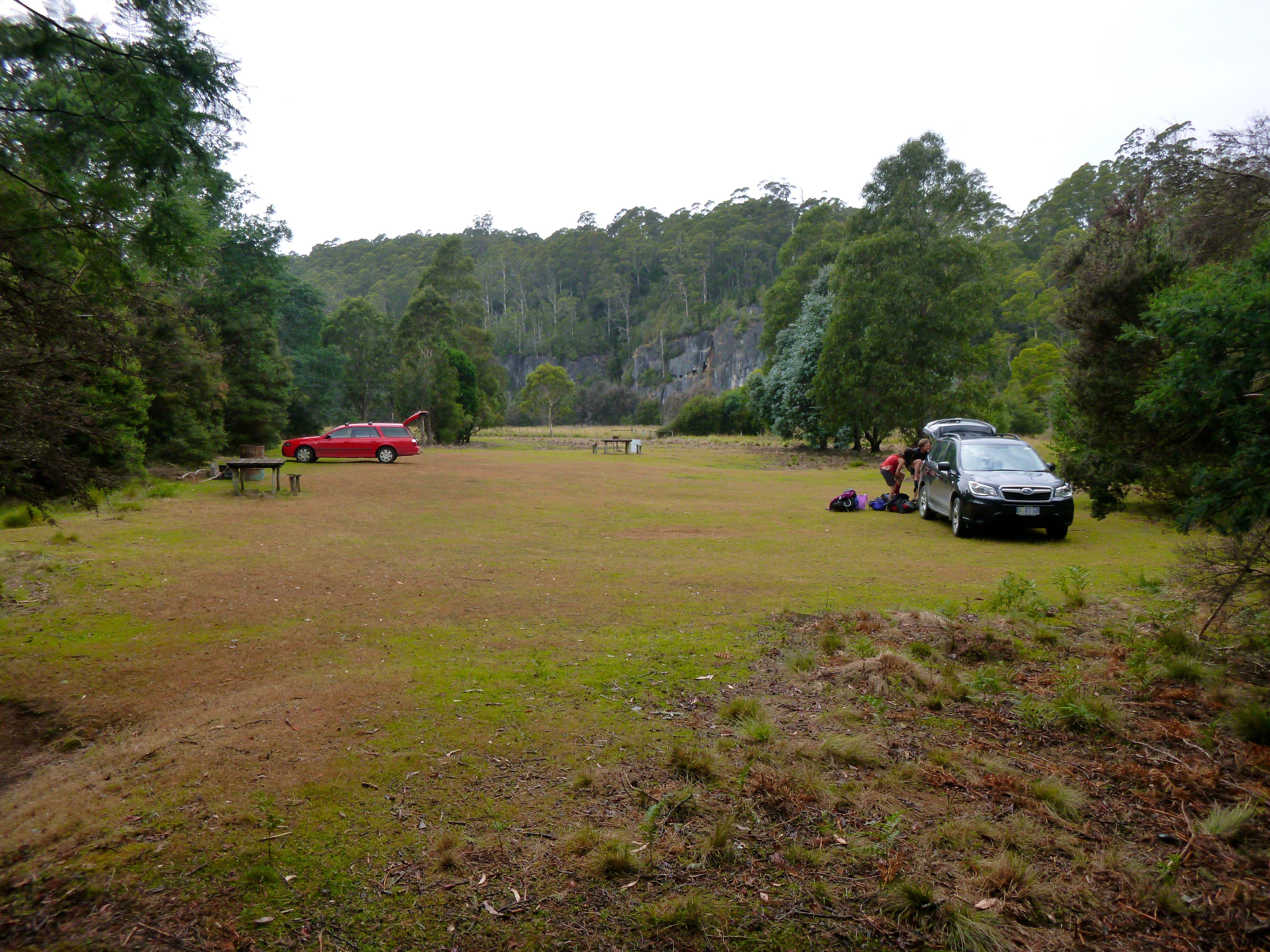 Picnic ground turned car park