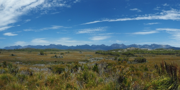 Western Arthurs Panorama from road, courtesy of Shaz