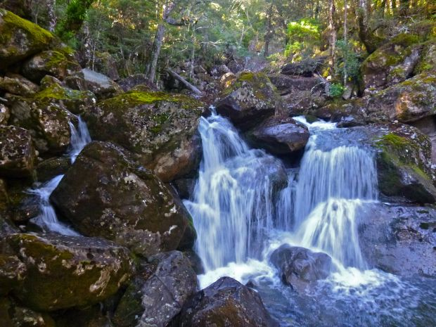 A few slight deviations from the track to check out the creek's waterfalls.. a must do!