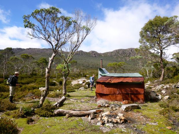 Whiteley's hut.. a lovely hut to explore!