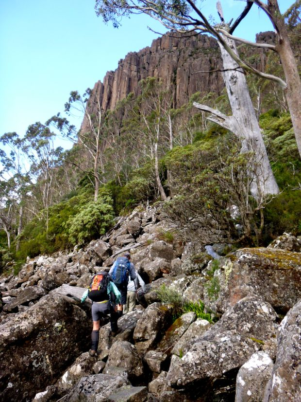 Back in contact with Murph, he leads us down his alternative route, and the other part of the Western Creek circuit.
