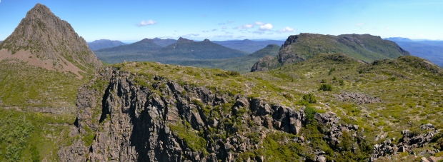 And a panorama of Gould and the Guardians, from the Minatour