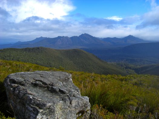 Oh, and a view of the Thumbs from my first trip up! You can see why it made the 'list'.