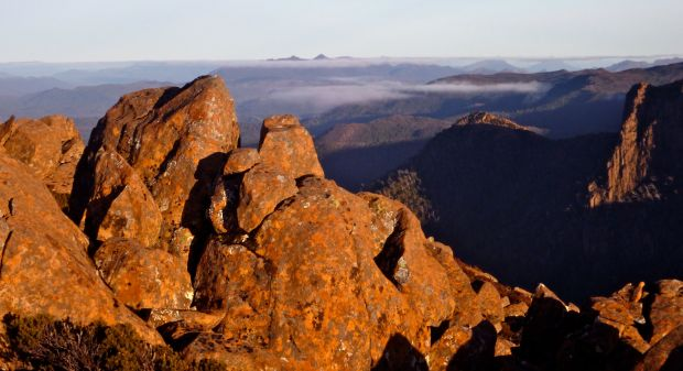 The Dennison range…I will be back!