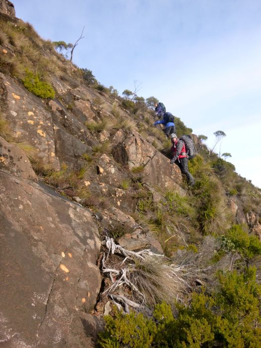 Yep.. just one of the bits we went up by head torch ;)!