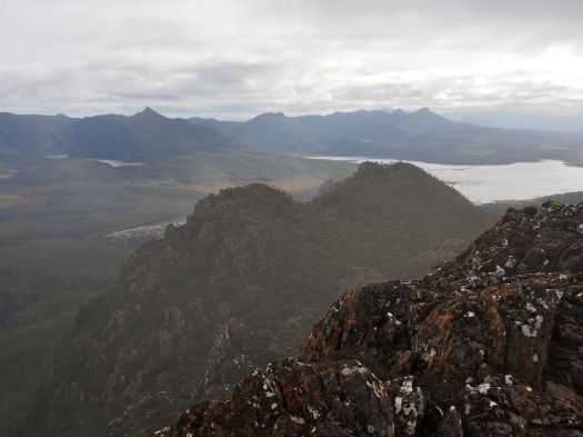 And then we got a bit more view.. the King William Range.