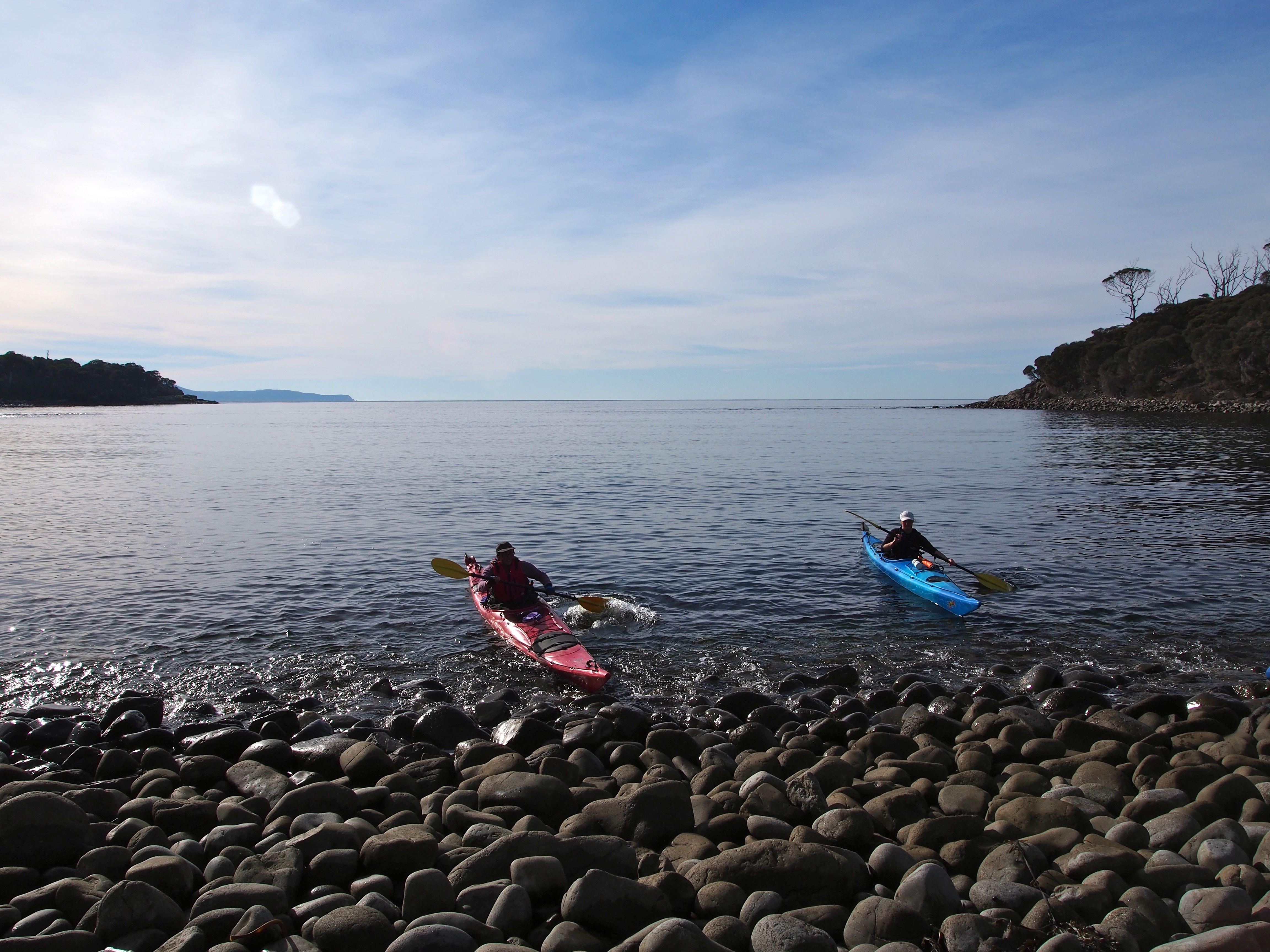 Pulling in to Tasman Bay