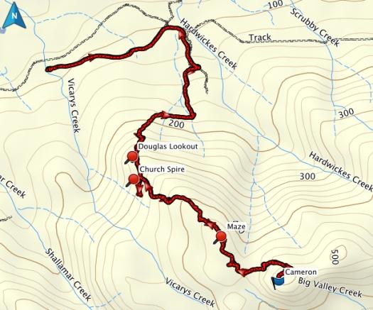 Mount Cameron GPS route