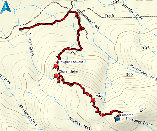 Mount Cameron GPS route