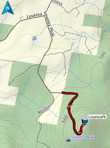 Loyetea GPS route