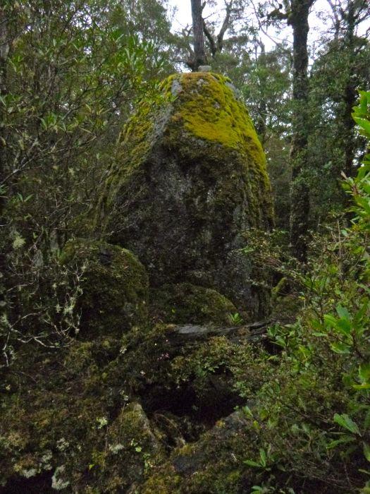 The hidden summit and summit cairn of Littlechild