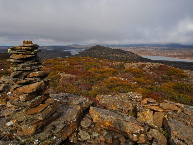 Northern summit of Blue Peaks, looking south