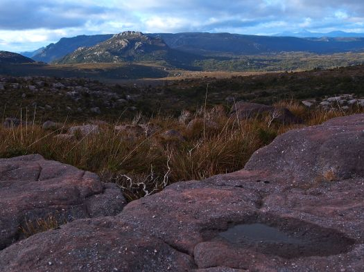 Walford Peak and the Sticht range in the background