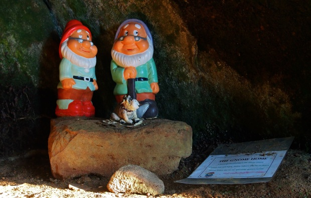 The 'Gnome Home'.. made me smile!