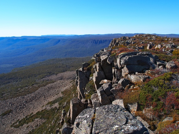View southish towards Wild Dog Tier