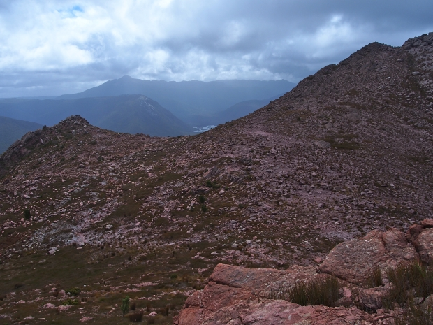Limited view of the Eldon Range