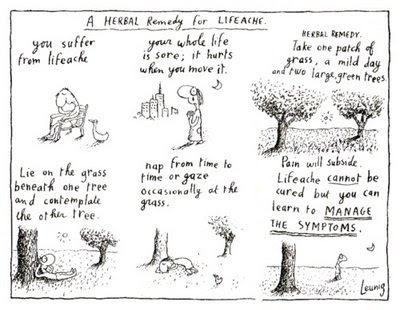 Leunig's Herbal Remedy for Lifeache