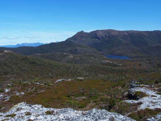 A good look at my mountain! Gell and Australia Tarn