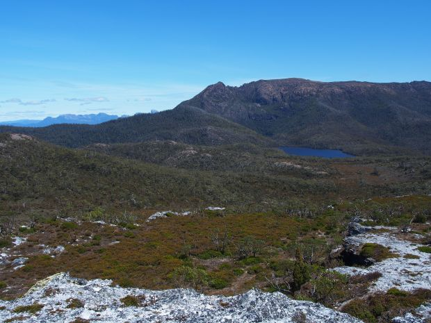 A good look at my mountain! Gell and Australia Tarn