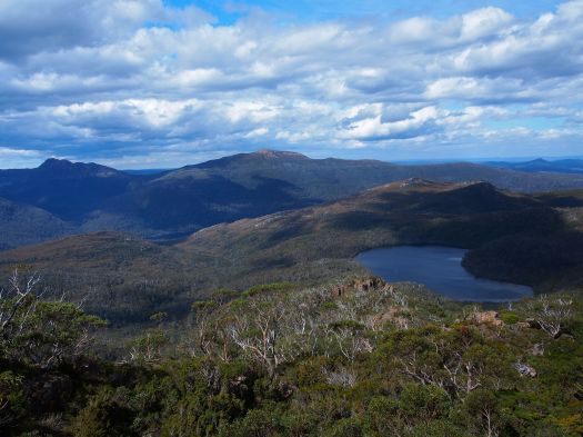 Australia Tarn.. an excuse to pause for a moment and catch my breath!