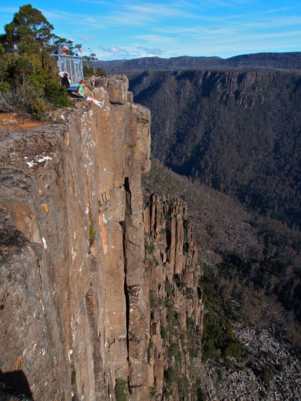 Devil's Gullet.. a LOOONG way down!